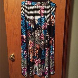 NY Collection Maxi Skirt